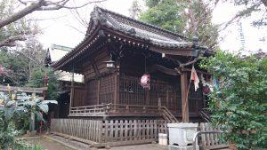 長崎神社 拝殿