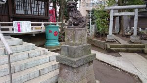 多田神社 狛犬 (2)