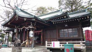 多田神社 拝殿