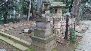 長崎神社 大正狛犬 (1)