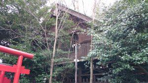 長崎神社 本殿(覆屋)