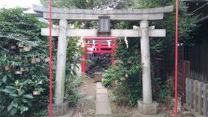 長崎神社 小柳稲荷神社 鳥居