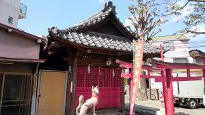 高円寺天祖神社 田中稲荷神社 社殿