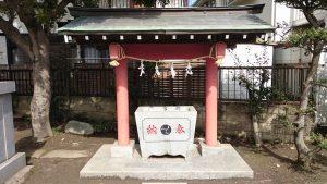 府中小野神社 (小野宮) 手水舎