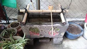 日本橋出世稲荷神社 水盤