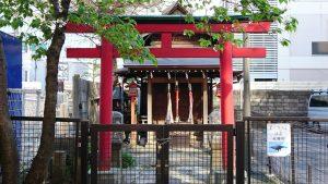 雷電稲荷神社 二の鳥居