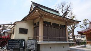 長島香取神社 神楽殿