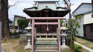 長島香取神社 諏訪神社 鳥居