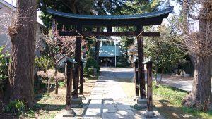 田端神社 二の鳥居