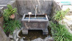 雷電稲荷神社 水鉢