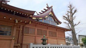 長島香取神社 本殿覆屋