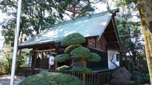 田端神社 拝殿