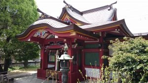 大森神社 拝殿