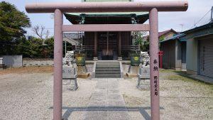 長島香取神社 八雲神社 鳥居
