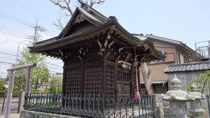 長島香取神社 諏訪神社 社殿