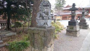 和樂備神社 狛犬 (1)