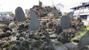 長島香取神社 長島の富士塚(浅間神社) (2)
