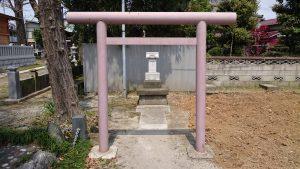 長島香取神社 小祠 (2)