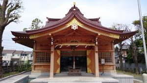 長島香取神社 拝殿