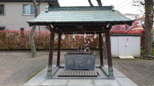 長島香取神社 手水舎
