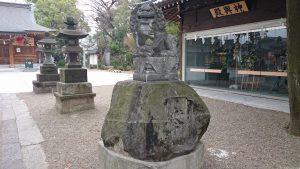 和樂備神社 狛犬 (2)
