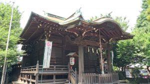 大森山王日枝神社 拝殿