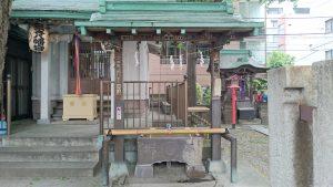 日本橋銀杏八幡宮 手水舎