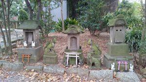 和樂備神社 小石祠