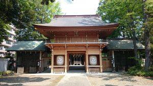 八幡大神社 神門