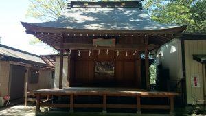 穴澤天神社 神楽殿