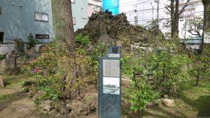 富賀岡八幡宮 砂町の富士塚 (2)