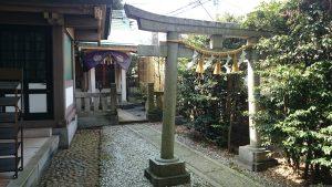 雑司が谷大鳥神社 三杉稲荷神社 鳥居
