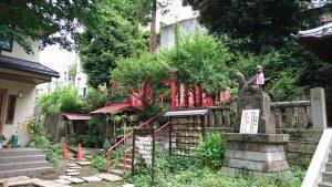 烏森稲荷神社 北参道