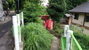 烏森稲荷神社 北参道入口