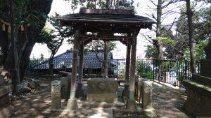 八景天祖神社 (神明山天祖神社) 手水舎