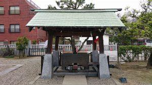 宇喜田稲荷神社 手水舎
