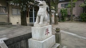 志演尊空神社 狛犬 (2)