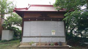 烏森稲荷神社 神楽殿