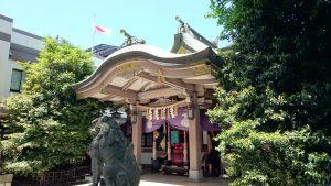 雑司が谷大鳥神社 拝殿