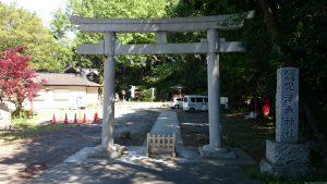 穴澤天神社 二の鳥居