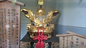 八幡大神社 獅子頭 (1)