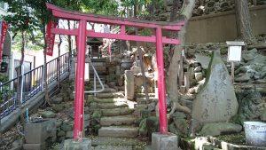 八景天祖神社 (神明山天祖神社) 摂社伏見稲荷社・稲荷石社