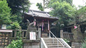 烏森稲荷神社 社殿