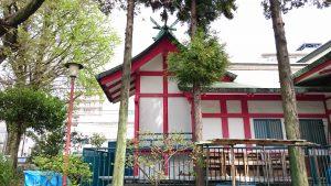 富賀岡八幡宮 本殿