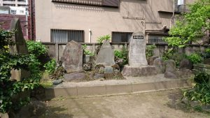 富賀岡八幡宮 石碑群 (2)
