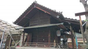 利田神社 社殿全景 (1)