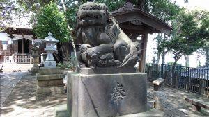 八景天祖神社 (神明山天祖神社) 狛犬 (2)