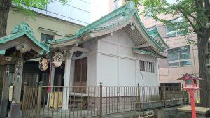 日本橋銀杏八幡宮 社殿