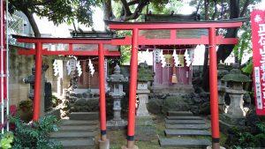 大森山王日枝神社 境内社鳥居 (2)