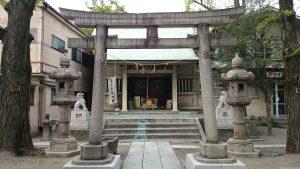 志演尊空神社 二の鳥居